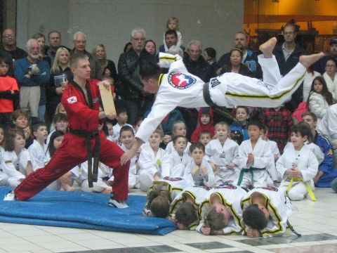 "KMMC ""soars to new heights"" thanks to our great friends at Master Kim's Taekwondo Institute"